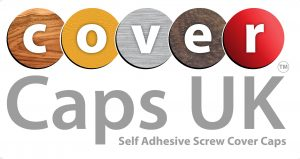 Self-Adhesive screw Covers ABS